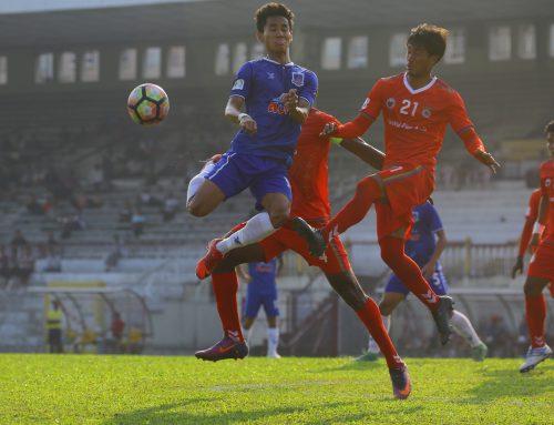 GFA FC အသင္းအား အႏုိင္ကစားကာ သုံးပြဲဆက္ ႏုိင္ပြဲ ရယူခဲ့သည့္ ရတနာပုံ