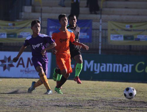 MPT U-14 Football Tournament 2018 (TaungGyi) ဇုန္ ပြဲဦးထြက္တြင္ ဟုိပုံးအသင္းႏွင့္ ပင္ေလာင္းအသင္းတုိ႔ ႏုိင္ပြဲ ကုိယ္စီရ