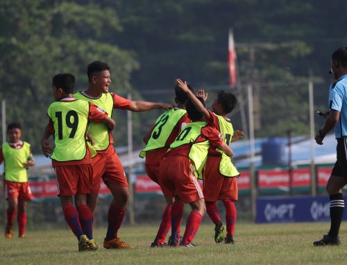 ဧရာဝတီတိုင္း ေဒသႀကီးအဆင့္ MPT U-14 Football Tournament 2019 ၿပိဳင္ပြဲတြင္ မအူပင္(ခ) အသင္း တတိယ ရရွိ
