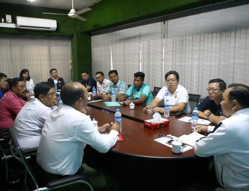 ၂၀၂၀ ဘောလုံးရာသီအကြို ရန်ပုံငွေ ကွင်းဖွင့်ဖလားပွဲအတွက် အကြိုညှိနှိုင်းအစည်းအဝေး ကျင်းပ
